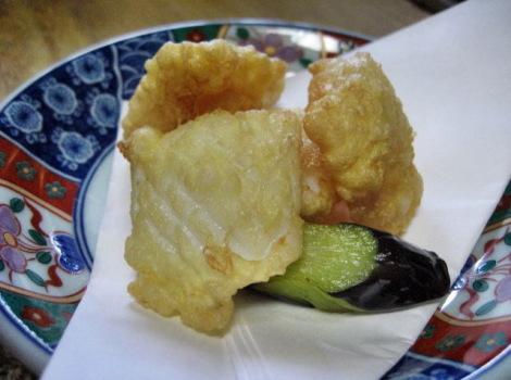 アオリイカのおすすめ料理・アオリイカの天ぷら