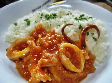 ヤリイカのおいしいレシピ・ヤリイカのトマトマヨネーズ煮込み