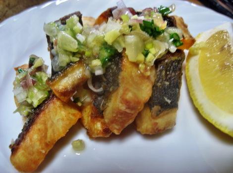 イサキ料理の簡単レシピ・いさきの香味ソース