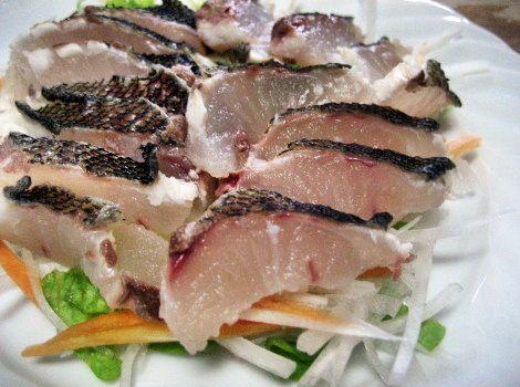 イサキの定番レシピ・イサキの刺身
