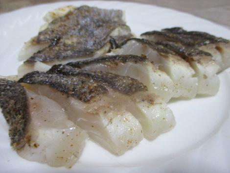 石鯛の山椒塩たたき