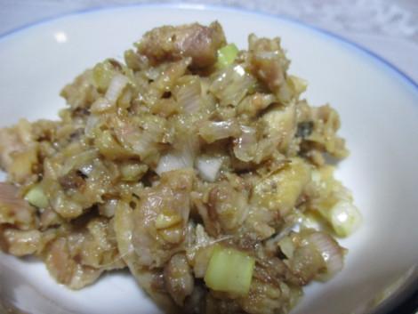 いわしの生姜味噌