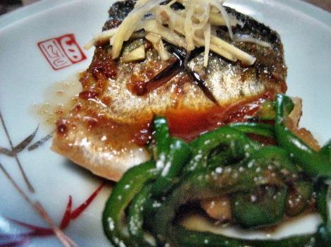 サバの定番レシピ・さばの味噌煮