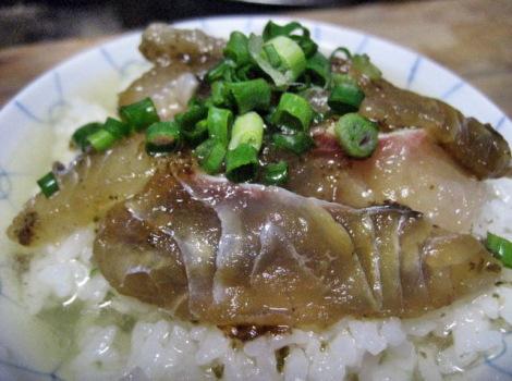 鯛茶漬けの簡単レシピ・塩昆布を使った鯛の昆布茶漬け