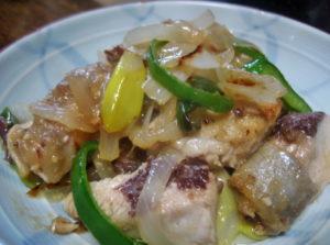 ブリと野菜の味噌焼き