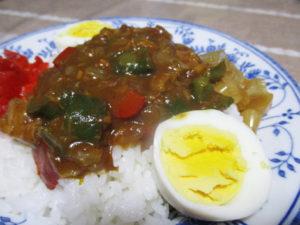 ツナ缶とピーマンの簡単カレー