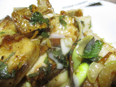 カンパチの簡単レシピ・かんぱちの黒胡椒炒め